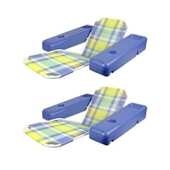 Pool Chair Floats Target Chairs That Help You Stand Up Poolmaster Caribbean Plaid Lounge Float With Cup Holders 2 Pack