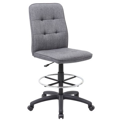 modern drafting chair memory foam bed uk stool gray boss target