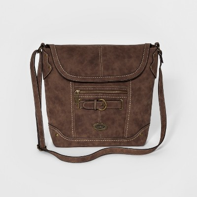 Women's Bolo Cross Body Bags - Chocolate