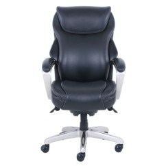 Leather Executive Office Chair Folding Sofa Hyland Bonded With Air Technology La Z Boy Target