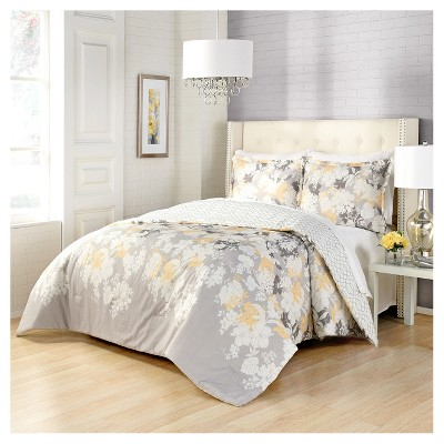Marble Hill Garden Party Reversible Comforter & Sham Set