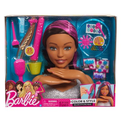 Barbie Color Style Deluxe Styling Head Target