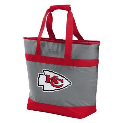 NFL Kansas City Chiefs Rawlings 30-Can Soft Sided Cooler Tote