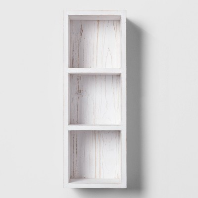 Entryway Wood Cubby White - Threshold™