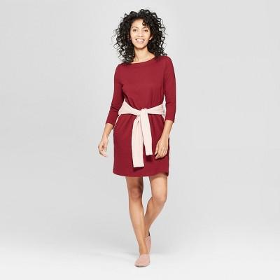 Women's 3/4 Sleeve Knit Dress - A New Day™