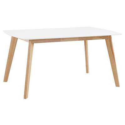 retro kitchen table fauset 60 modern wood dining saracina home target