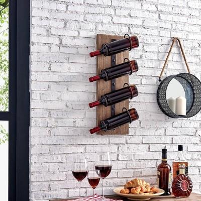 Cooper Rustic Wine Rack Wood - Firstime & Co.®