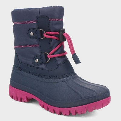 Girls' Paisley Short Bungee Winter Boots - Cat & Jack™