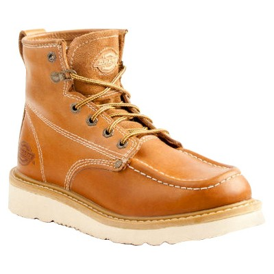Dickies® Men's Trader Leather Work Boots - Tan