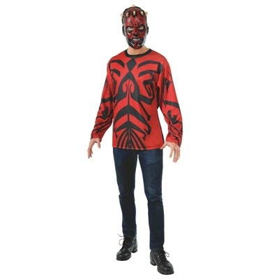 Men's Star Wars Darth Maul Halloween Costume