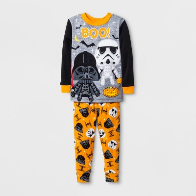 Baby Boys' Star Wars 2pc Pajama Set - Black