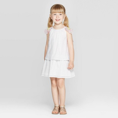 Toddler Girls' 'Wing' Blouse and Skirt Set - Cat & Jack™ White