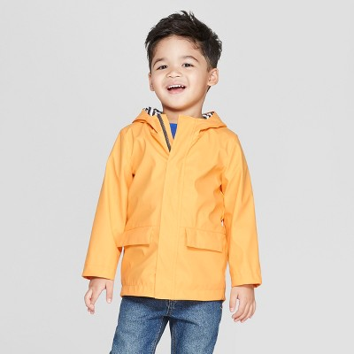 Toddler Boys' Rain Coat - Cat & Jack™ Yellow