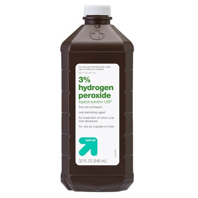 Hydrogen Peroxide Topical Solution USP - 32oz - Up&Up ...