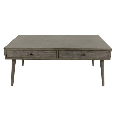 mid century modern coffee table gray decor therapy