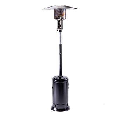 portable outdoor propane patio heater hammered black legacy heating
