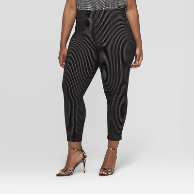 Women's Plus Size Skinny Ankle Pants - Who What Wear™