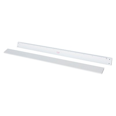 DaVinci Hidden Hardware Full Size Bed Conversion Kit (M5789) - White