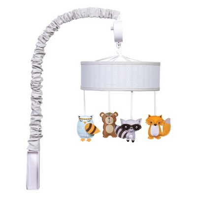 Trend Lab Musical Mobile Lodge Buddies - Gray
