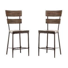 Counter Height Chairs Target Bentwood With Cane Seat And Back 5pc Jennings Dining Set Swivel Stools Wood Metal Hillsdale Furniture
