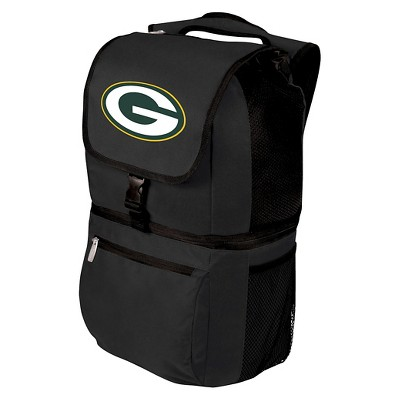 NFL Zuma Cooler Backpack by Picnic Time - Black
