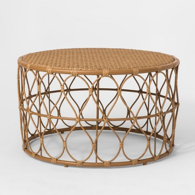 britanna patio coffee table natural opalhouse