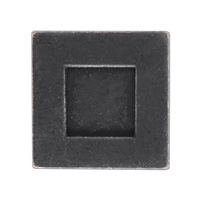 Sumner Street Home Hardware - 0.625 - 4 -Piece - Knob - Oil-Rubbed Bronze Rhombus Cube