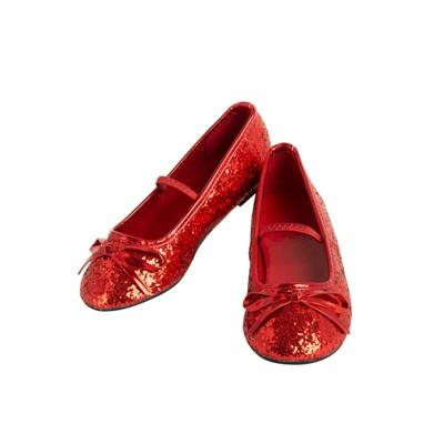 Girls' Ballet Costume Shoe - Red