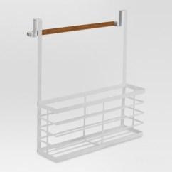 Kitchen Storage Racks Custom Island Holders And Dispensers White Threshold Target