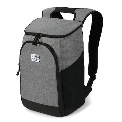 Fulton Bag Co. 24 Can Backpack Cooler - Griffin Gray