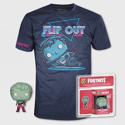 Kids' Funko POP! Fortnite: Love Ranger Short Sleeve T-Shirt - Navy