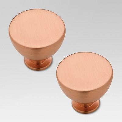 Jessina Knob - Copper - 2pk - Threshold™