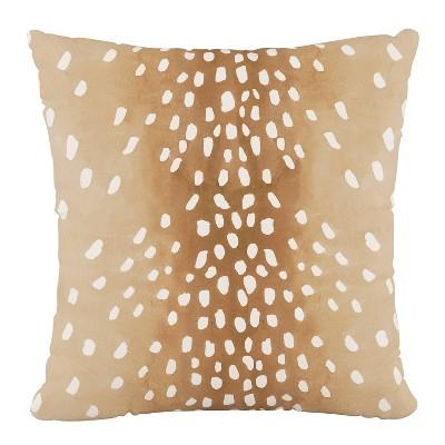 fawn outdoor toss pillow natural skyline furniture