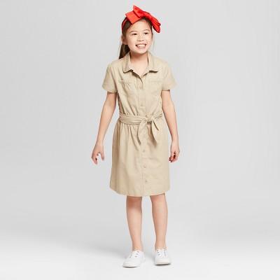 Girls' A Line Uniform Dress - Cat & Jack™