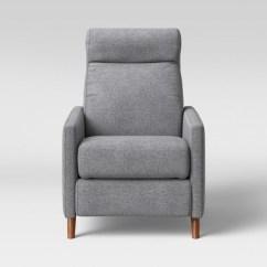Push Back Chair Swivel Amazon Calhoun Pushback Recliner Gray Project 62 Target