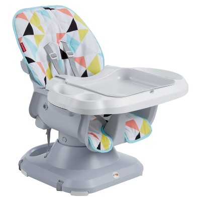 portable high chair target folding buy fisher price spacesaver windmill