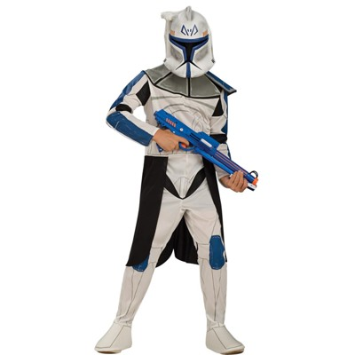Kids' Star Wars: The Clone Wars Leader Rex Halloween Costume L