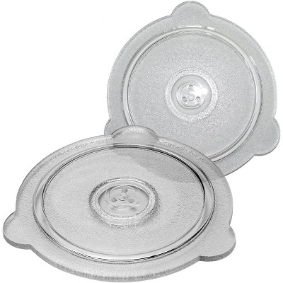 cuchina safe 2 piece microwave covers vented glass microwave safe lids set perfect lid for bowls mugs and pots 8 inch and 9 inch