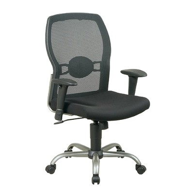mesh back chairs for office chair with side table screen seat black star target about this item