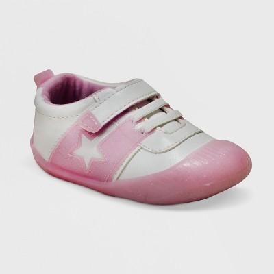 Ro+Me by Robeez Baby Girls' Alyssa Athletic Sneakers - Pink