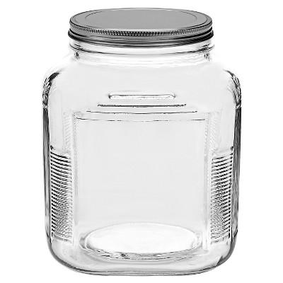 Anchor Hocking Glass Cracker Jar 2qt