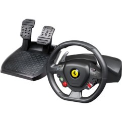 Steering Wheel Pc Sony Cdx Gt300 Wiring Diagram Thrustmaster Ferrari 458 Italia Gaming Cable Usb About This Item