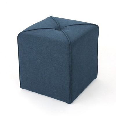 kenyon square ottoman navy blue christopher knight home