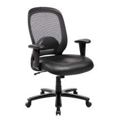 Big And Tall Computer Chairs Ivory Leather Wingback Comfy Office Chair Black Techni Mobili Target