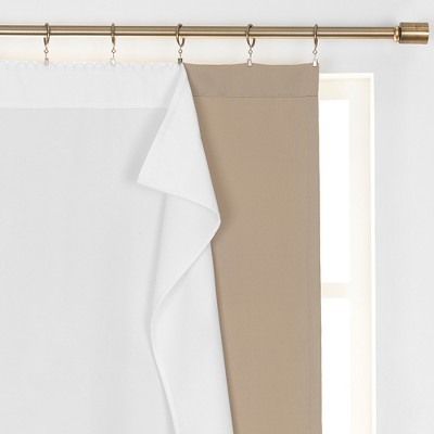 extra wide curtain target