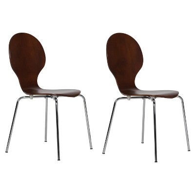bentwood dining chair kmart bean bag shell set of 2 dorel home products target