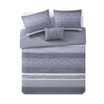 Casper Comforter Set Gray - VCNY Home