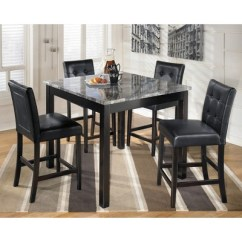 Target Table And Chairs Red Recliner Chair Uk Dining Set Black Signature Design By Ashley
