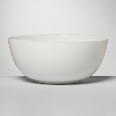 Glass Serving Bowl 36oz White - Made By Design™