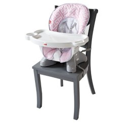 Fisher Price Spacesaver High Chair Cover Dxracer Warranty Girl Target